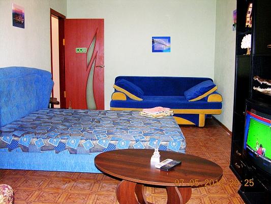 1-комнатная квартира посуточно в Донецке. Калининский район, ул. Краснофлотская, 98. Фото 1