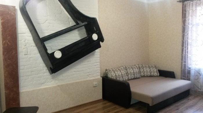 1-комнатная квартира посуточно в Львове. Галицкий район, ул. Стефаника, 11. Фото 1