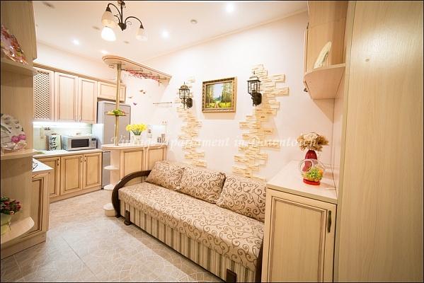 1-комнатная квартира посуточно в Львове. Галицкий район, ул. Замарстыновская, 24. Фото 1