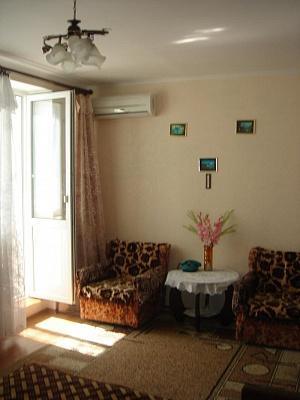 1-комнатная квартира посуточно в Саках. ул. Курортная, 23. Фото 1