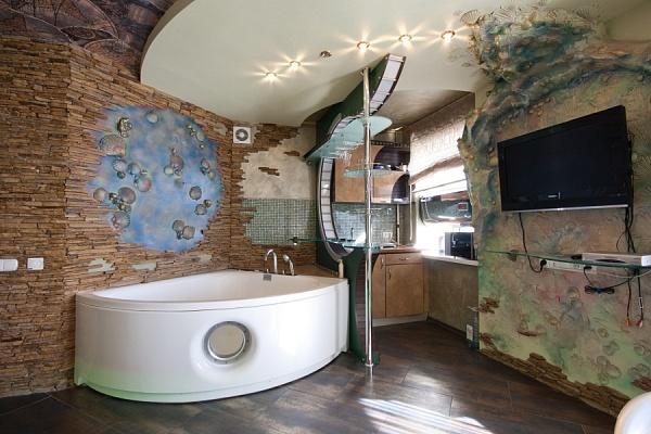 1-комнатная квартира посуточно в Харькове. Киевский район, ул. Гоголя, 2А. Фото 1