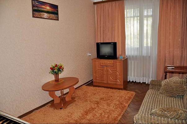 1-комнатная квартира посуточно в Севастополе. Гагаринский район, пр-т Октяб.Революции, 25. Фото 1