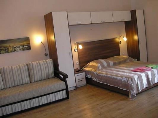 1-комнатная квартира посуточно в Одессе. Приморский район, ул. Нежинская, 55. Фото 1