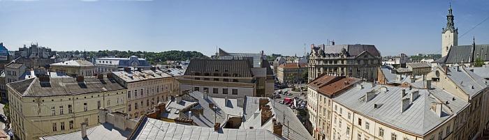 2-комнатная квартира посуточно в Львове. Галицкий район, ул.Галицька, 19. Фото 1
