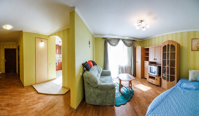 1-комнатная квартира посуточно в Харькове. Дзержинский район, пр-т Победы, 59. Фото 1