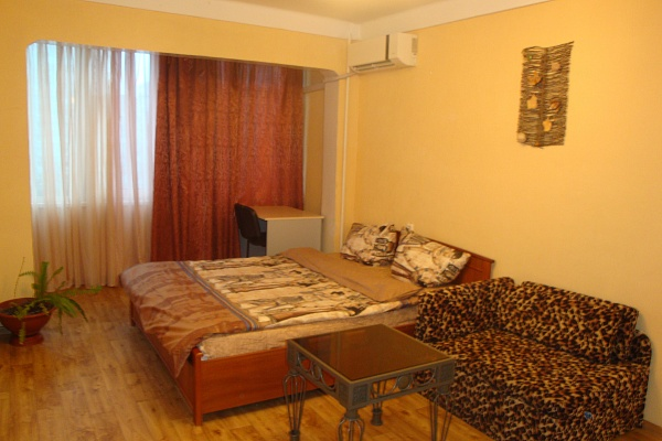 1-комнатная квартира посуточно в Киеве. Днепровский район, ул. Расковой, 8. Фото 1