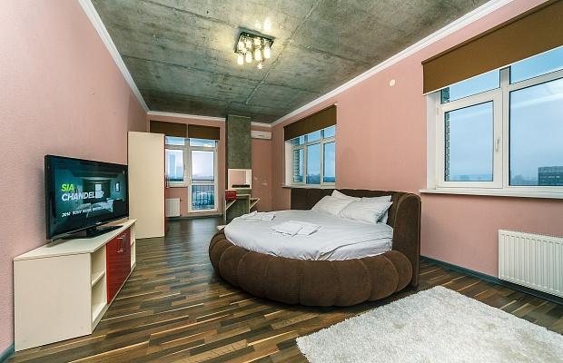 2-комнатная квартира посуточно в Киеве. Голосеевский район, ул. Антоновича, 72. Фото 1