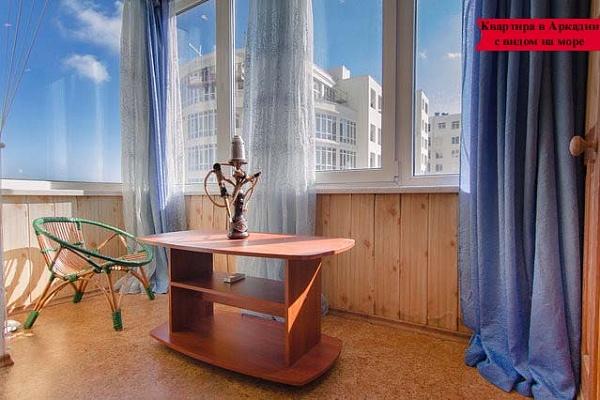 1-комнатная квартира посуточно в Одессе. Приморский район, ул. Посмитного, 9а. Фото 1