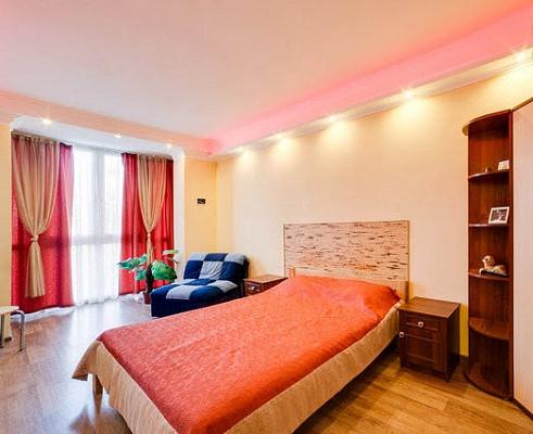 1-комнатная квартира посуточно в Севастополе. Гагаринский район, ул. Павла Дыбенко, 6. Фото 1
