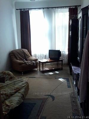 1-комнатная квартира посуточно в Львове. Шевченковский район, ул. Богдана Хмельницкого , 83. Фото 1