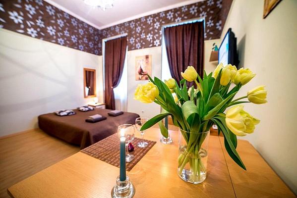 1-комнатная квартира посуточно в Львове. Галицкий район, ул. Леся Курбаса, 8. Фото 1