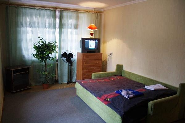 1-комнатная квартира посуточно в Днепропетровске. Октябрьский район, пр-т Гагарина, 127. Фото 1