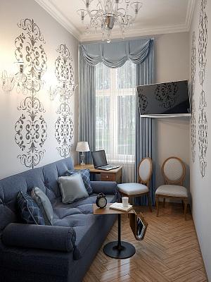1-комнатная квартира посуточно в Одессе. Приморский район, пер. Каретный/пер. Лютеранский. Фото 1