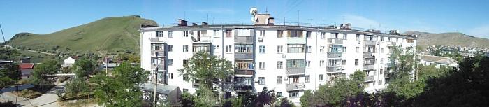 1-комнатная квартира посуточно в Феодосии. ул. Нахимова, 25. Фото 1