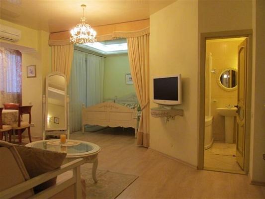 1-комнатная квартира посуточно в Киеве. Голосеевский район, ул. Красноармейская, 118. Фото 1