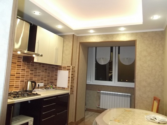 1-комнатная квартира посуточно в Борисполе. ул. Коммунистическая, 15. Фото 1