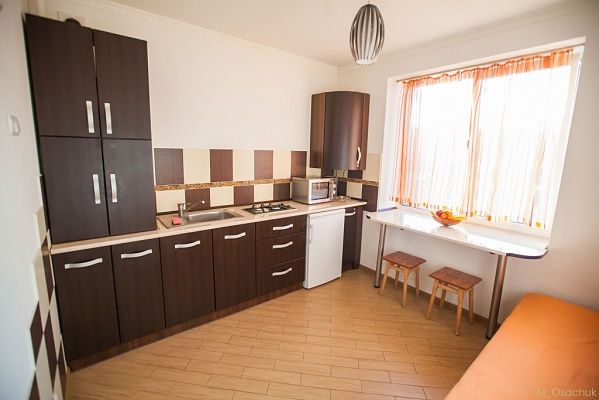 1-комнатная квартира посуточно в Ивано-Франковске. ул. Пулюя, 15А. Фото 1