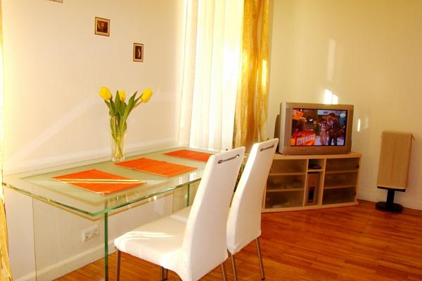 2-комнатная квартира посуточно в Киеве. Голосеевский район, ул. Красноармейская, 36. Фото 1