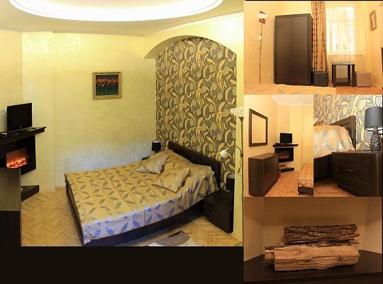 1-комнатная квартира посуточно в Львове. Галицкий район, ул. Леси Украинки, 7. Фото 1