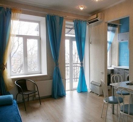 1-комнатная квартира посуточно в Днепропетровске. Бабушкинский район, ул. Карла Либкнехта, 23. Фото 1