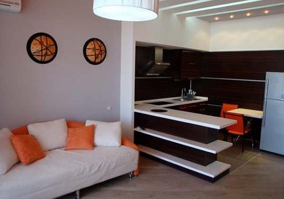 1-комнатная квартира посуточно в Одессе. Приморский район, ул. Гагаринское плато. Фото 1