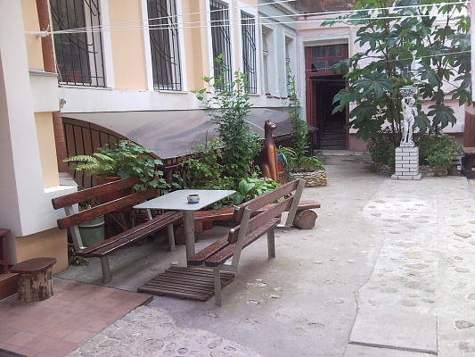 1-комнатная квартира посуточно в Одессе. Приморский район, пер. Вознесенский, 14. Фото 1