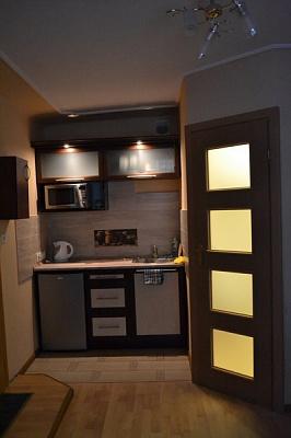 1-комнатная квартира посуточно в Львове. Зализнычный район, ул. Марка Вовчка, 8. Фото 1