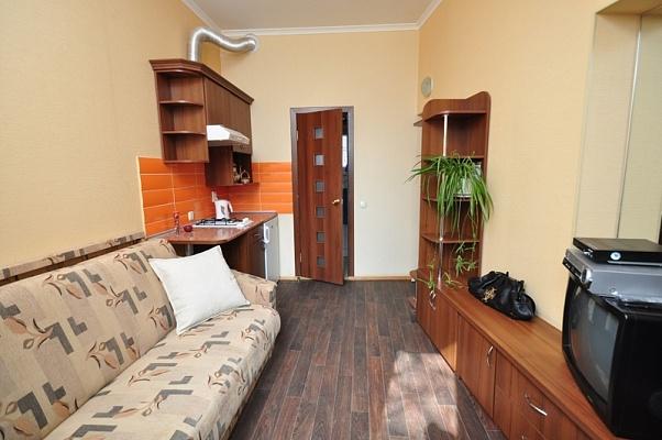 1-комнатная квартира посуточно в Харькове. Ленинский район, ул. Карла Маркса, 26. Фото 1
