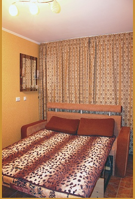 1-комнатная квартира посуточно в Сумах. Заречный район, ул. Харьковская, 8. Фото 1