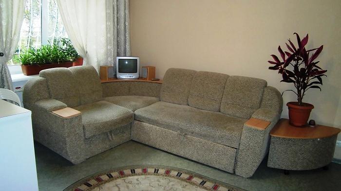 1-комнатная квартира посуточно в Киеве. Печерский район, ул. Лаврская, 21. Фото 1
