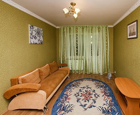 1-комнатная квартира посуточно в Сумах. Заречный район, ул. Харьковская, 7. Фото 1