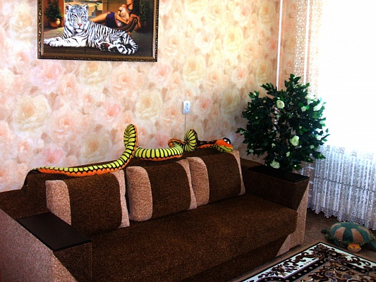 1-комнатная квартира посуточно в Сумах. Ковпаковский район, пр-т Курский, 47. Фото 1