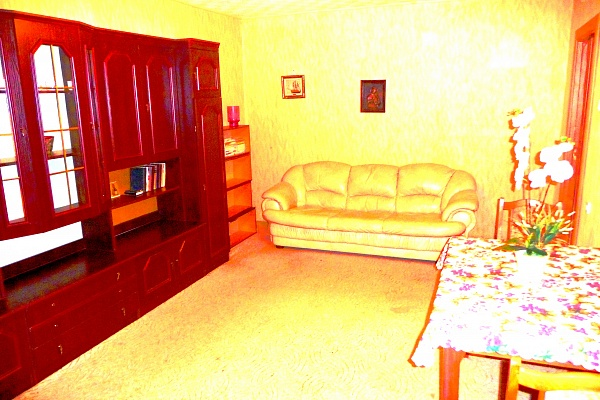 2-комнатная квартира посуточно в Львове. Сиховский район, ул. С. Бандеры, 57. Фото 1