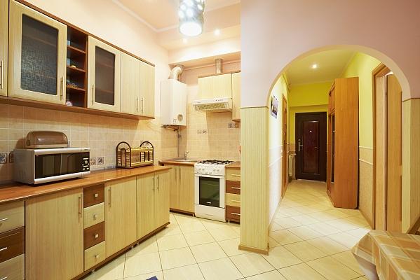 1-комнатная квартира посуточно в Львове. Галицкий район, ул. Фурманская, 1. Фото 1