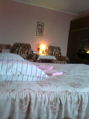 1-комнатная квартира посуточно в Киеве. Дарницкий район, ул. Новодарницкая, 6. Фото 1