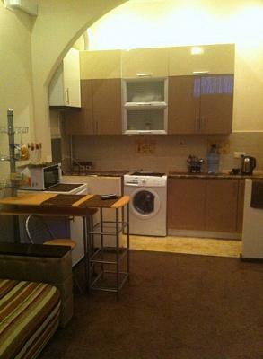 1-комнатная квартира посуточно в Львове. Лычаковский район, Мечникова, 9. Фото 1