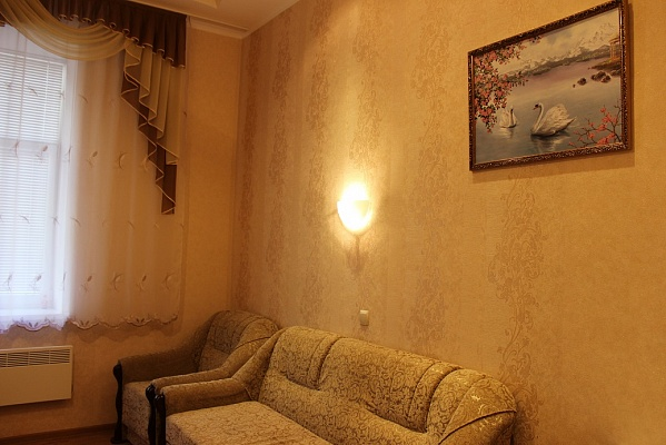 1-комнатная квартира посуточно в Львове. Галицкий район, ул. Городоцкая, 39. Фото 1