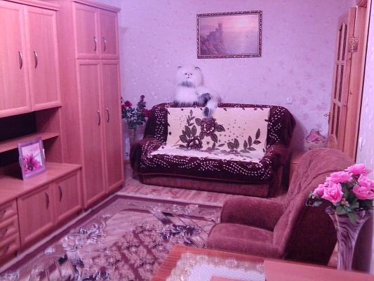 1-комнатная квартира посуточно в Симферополе. Киевский район, Молодых Подпольщиков, 9. Фото 1