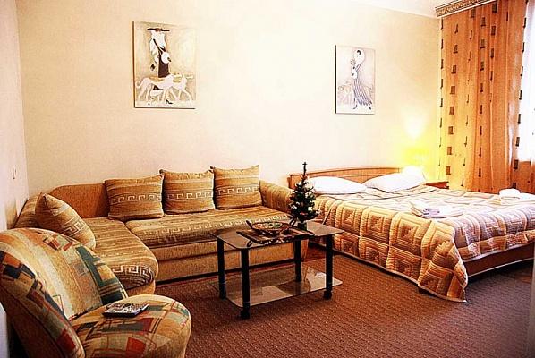 2-комнатная квартира посуточно в Киеве. Голосеевский район, пл. Льва Толстого, 5А. Фото 1