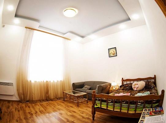 1-комнатная квартира посуточно в Львове. Галицкий район, ул. Б. Хмельницкого, 20. Фото 1