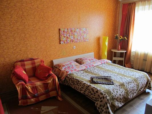 1-комнатная квартира посуточно в Днепропетровске. Бабушкинский район, Гагарина, 104. Фото 1