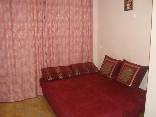 1-комнатная квартира посуточно в Львове. Зализнычный район, ул. Петлюри, 2а. Фото 1