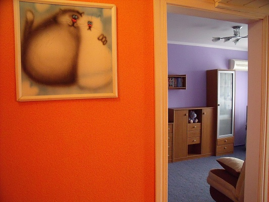 1-комнатная квартира посуточно в Керчи. ул. Cвердлова, 39. Фото 1
