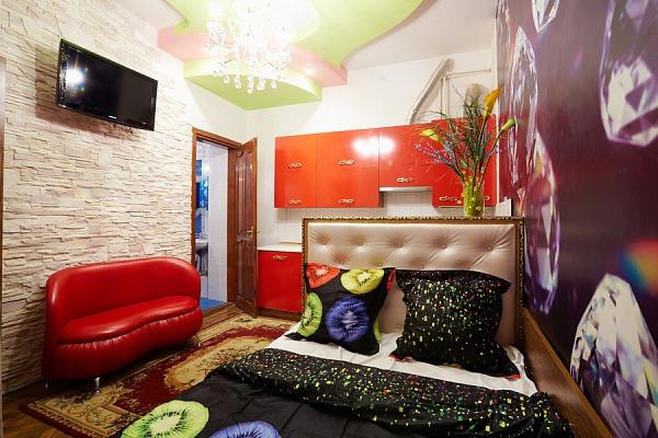 1-комнатная квартира посуточно в Львове. Лычаковский район, ул. Зеленая, 49. Фото 1
