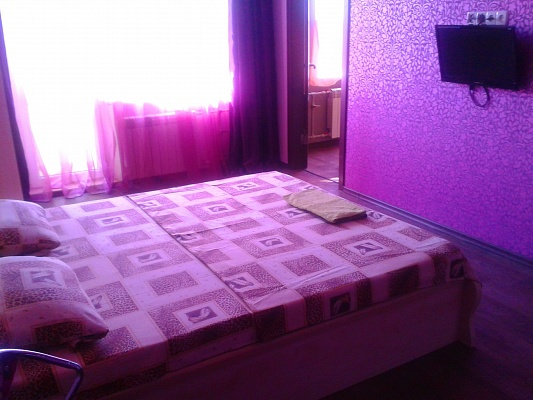 1-комнатная квартира посуточно в Харькове. Московский район, ул. Тимуровцев, 23а. Фото 1