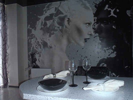 1-комнатная квартира посуточно в Севастополе. Гагаринский район, ул. Колобова, 35. Фото 1