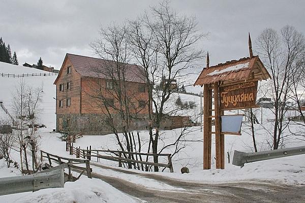 Мини-отель  посуточно в Яблунице. ул. Село, 1. Фото 1