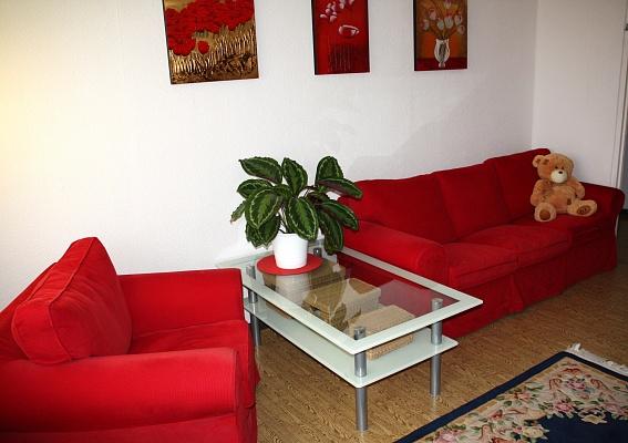 1-комнатная квартира посуточно в Херсоне. Днепровский район, пл. Свободы/б-р Мирный. Фото 1