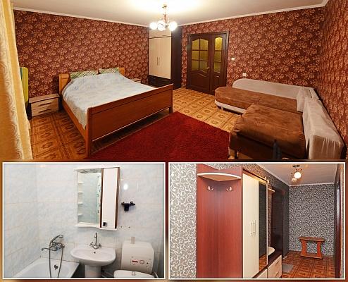 1-комнатная квартира посуточно в Сумах. Ковпаковский район, ул. Металлургов, 32Б. Фото 1