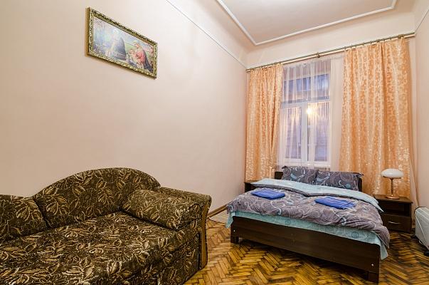 1-комнатная квартира посуточно в Львове. Галицкий район, ул. Веселая, 5. Фото 1